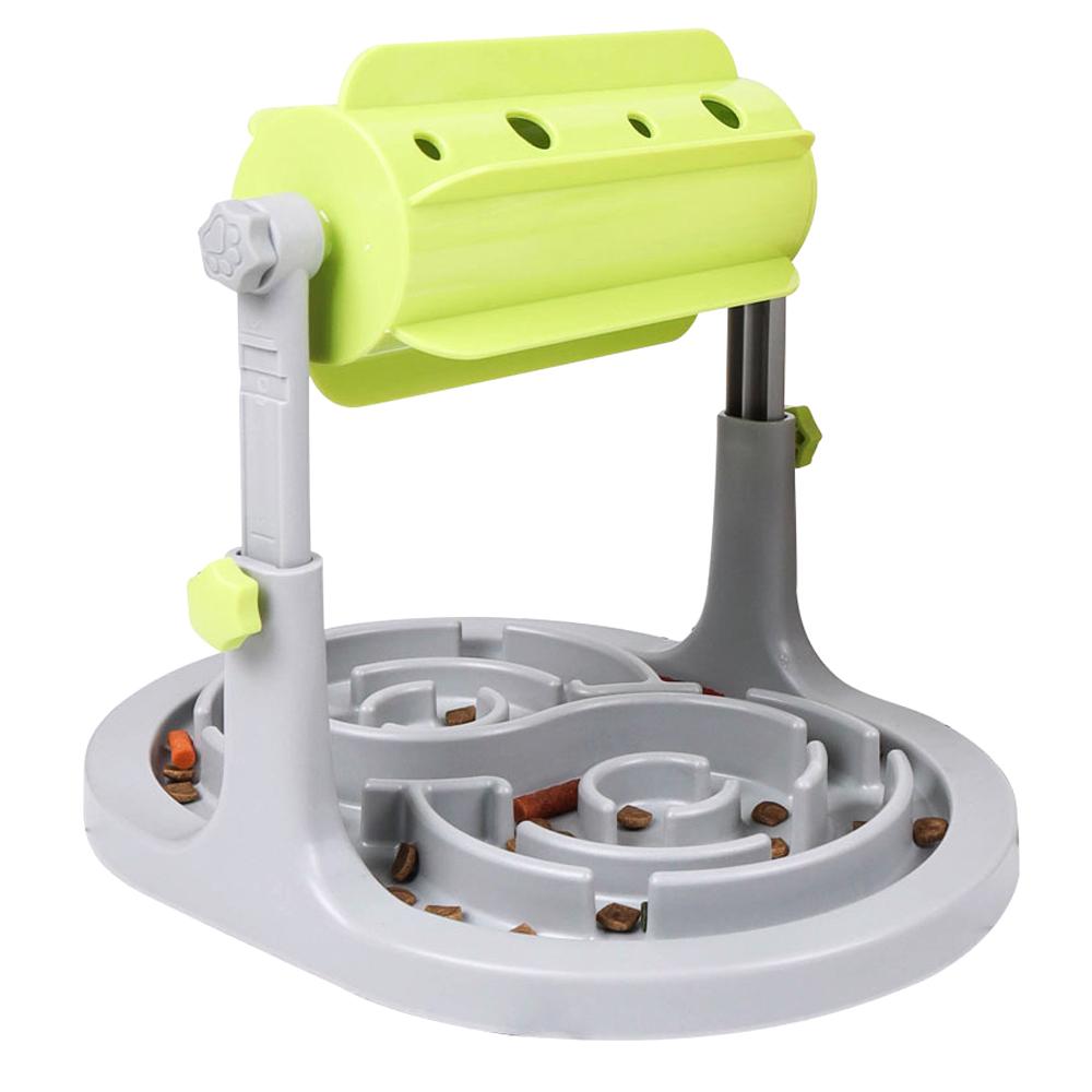 딩동펫 반려견 노즈워크 IQ트레이닝 돌돌이 장난감 32 x 25 x 21~25 cm, 혼합 색상, 1개