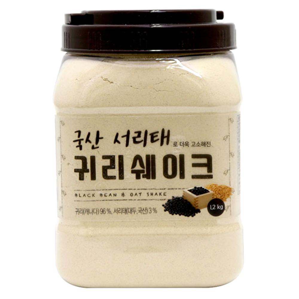 태광선식 국산서리태로 더욱 고소해진 귀리쉐이크, 1.2kg, 1개