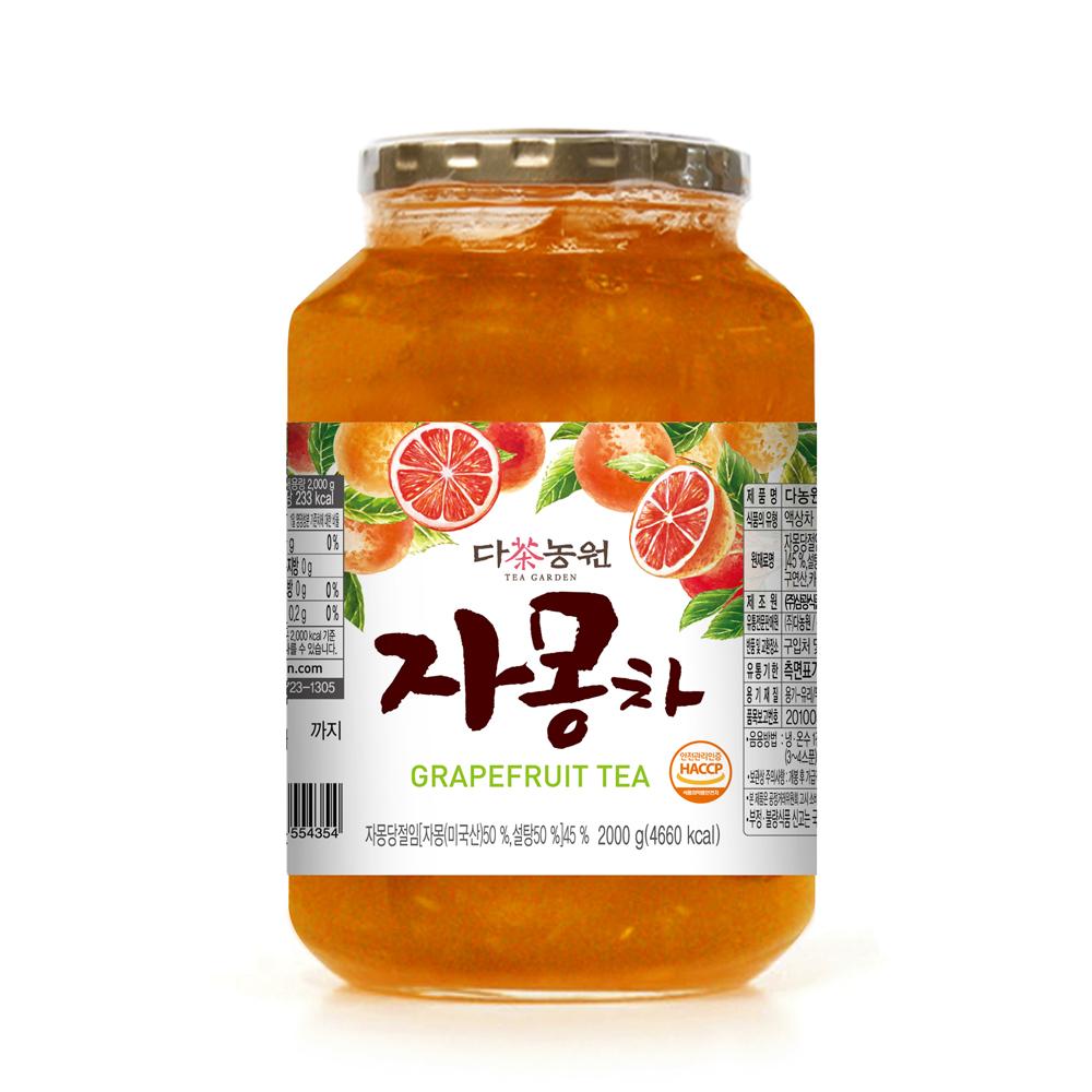 다농원 자몽차, 2kg, 1개