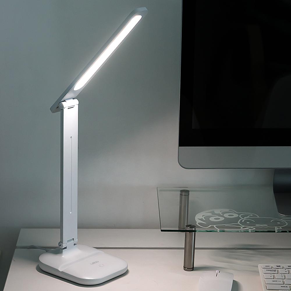 레토 스마트폰 거치대 LED스탠드 LLU-S14, 단일색상