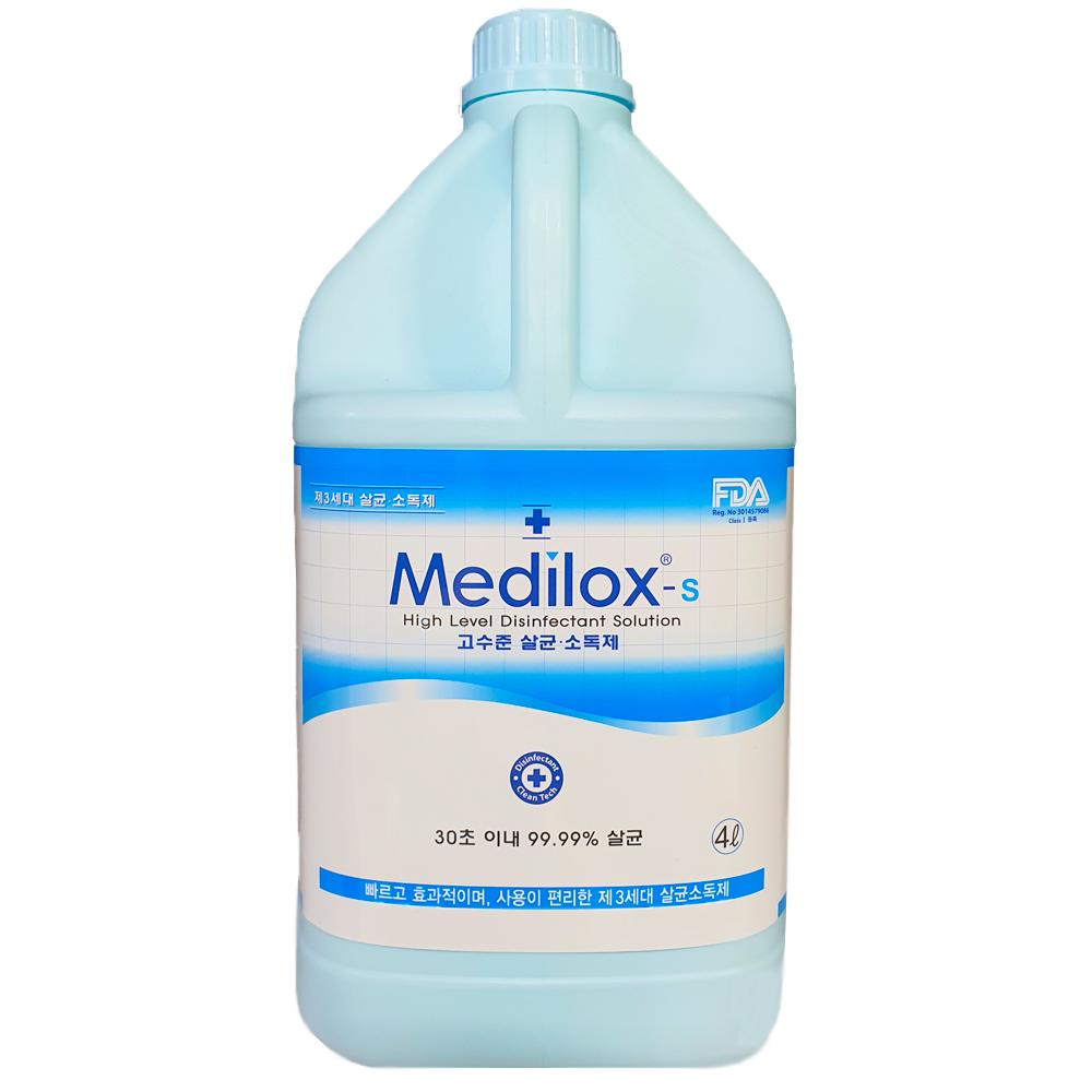 메디록스 S 고수준 살균소독제, 4L, 1개