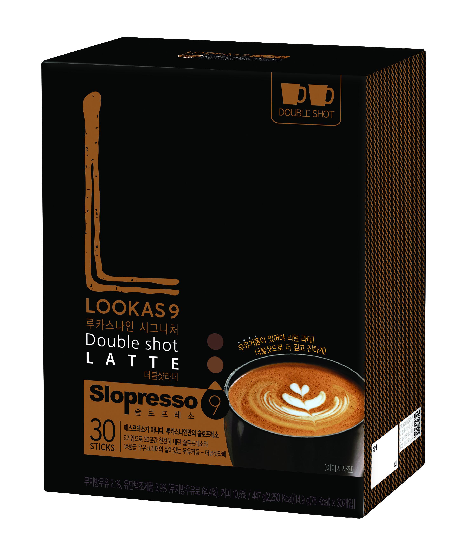 루카스나인 더블샷 라떼 커피, 14.9g, 30개