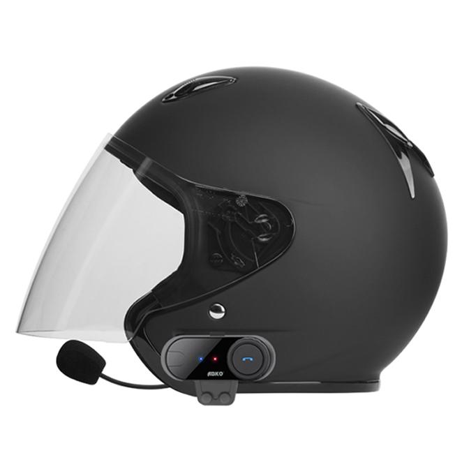 앱코 오픈형 오토바이 바이크 헬멧 블루투스 헤드셋, TCOM B type, 혼합 색상