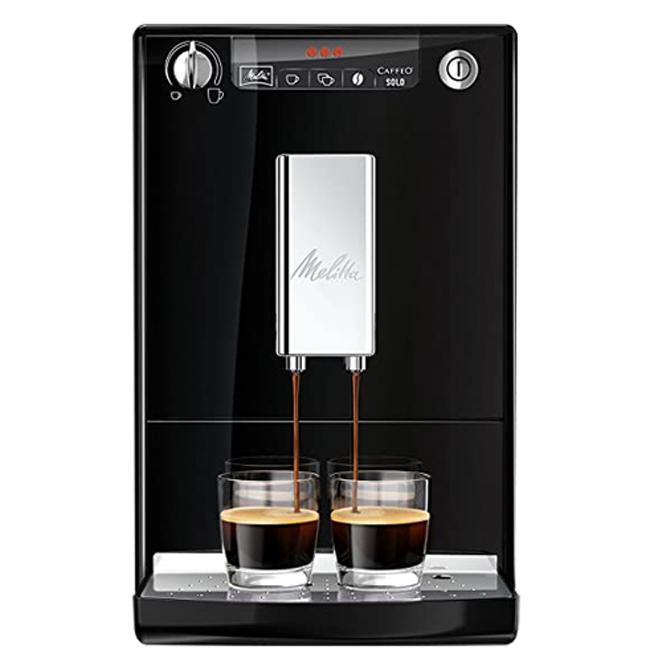 밀리타 카페오 솔로 전자동 커피 머신, E950(블랙)
