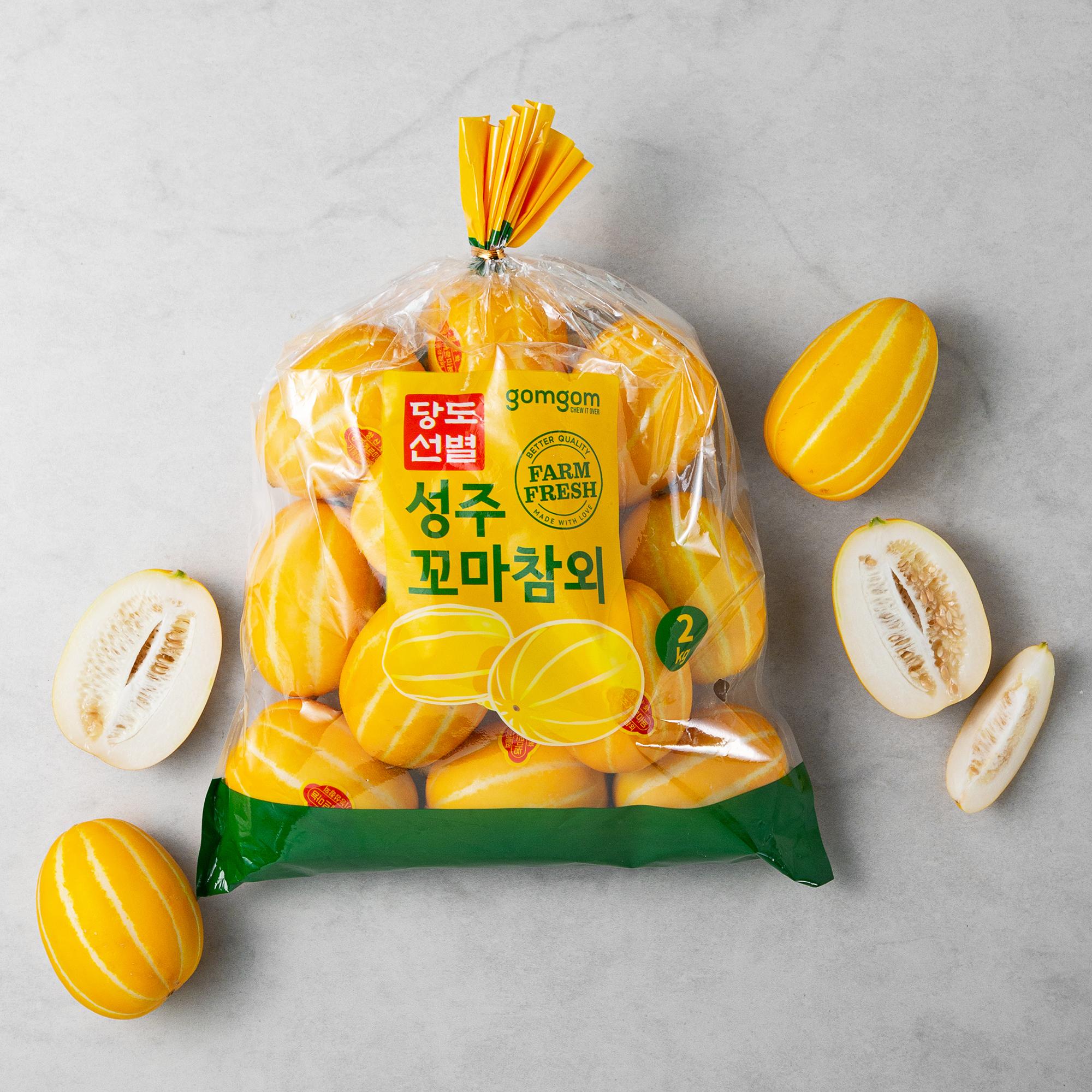 곰곰 당도선별 성주 꼬마참외, 2kg, 1봉
