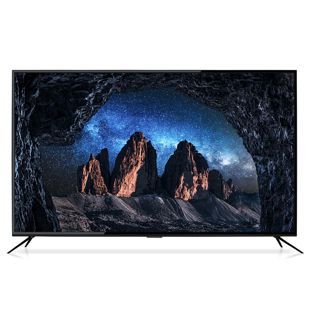 에이팩스 4K UHD LED 165cm TV DB6500, 스탠드형, 방문설치