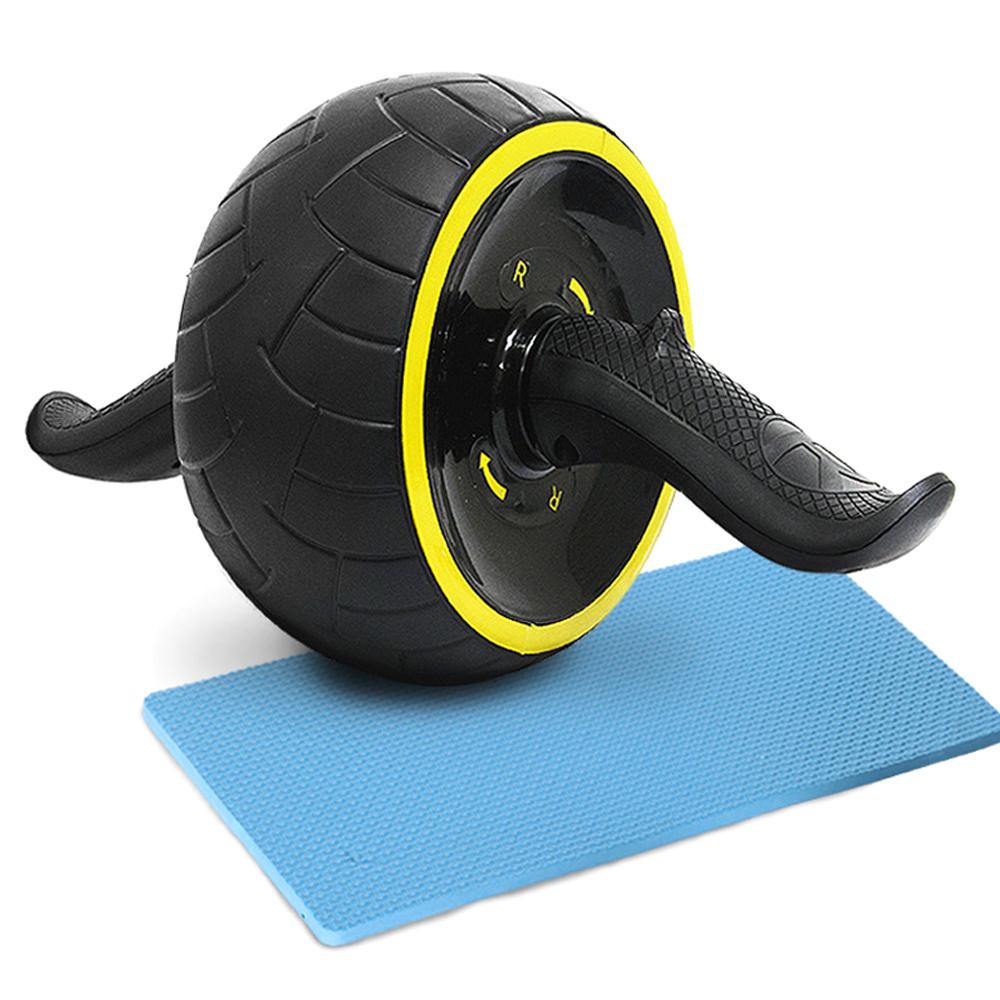 아리프 광폭 파워 슬라이드 AB휠 + 무릎 보호 패드, 옐로우