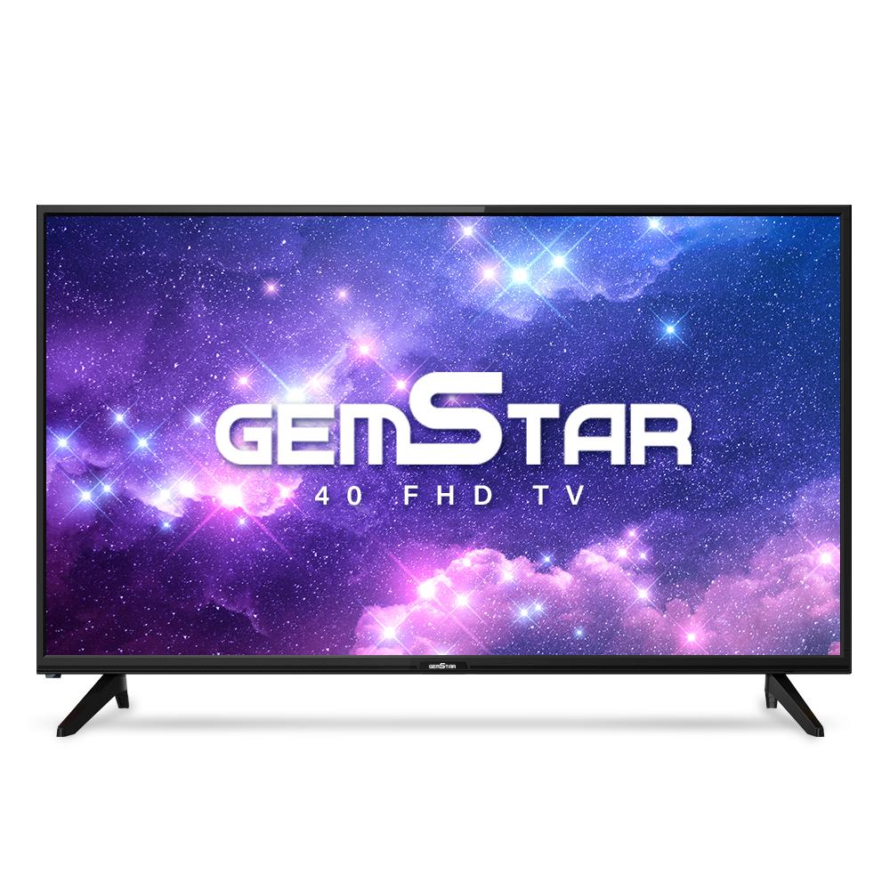 GEMSTAR FHD DLED 101.6cm TV 자가설치, T40-FHDTV, 스탠드형