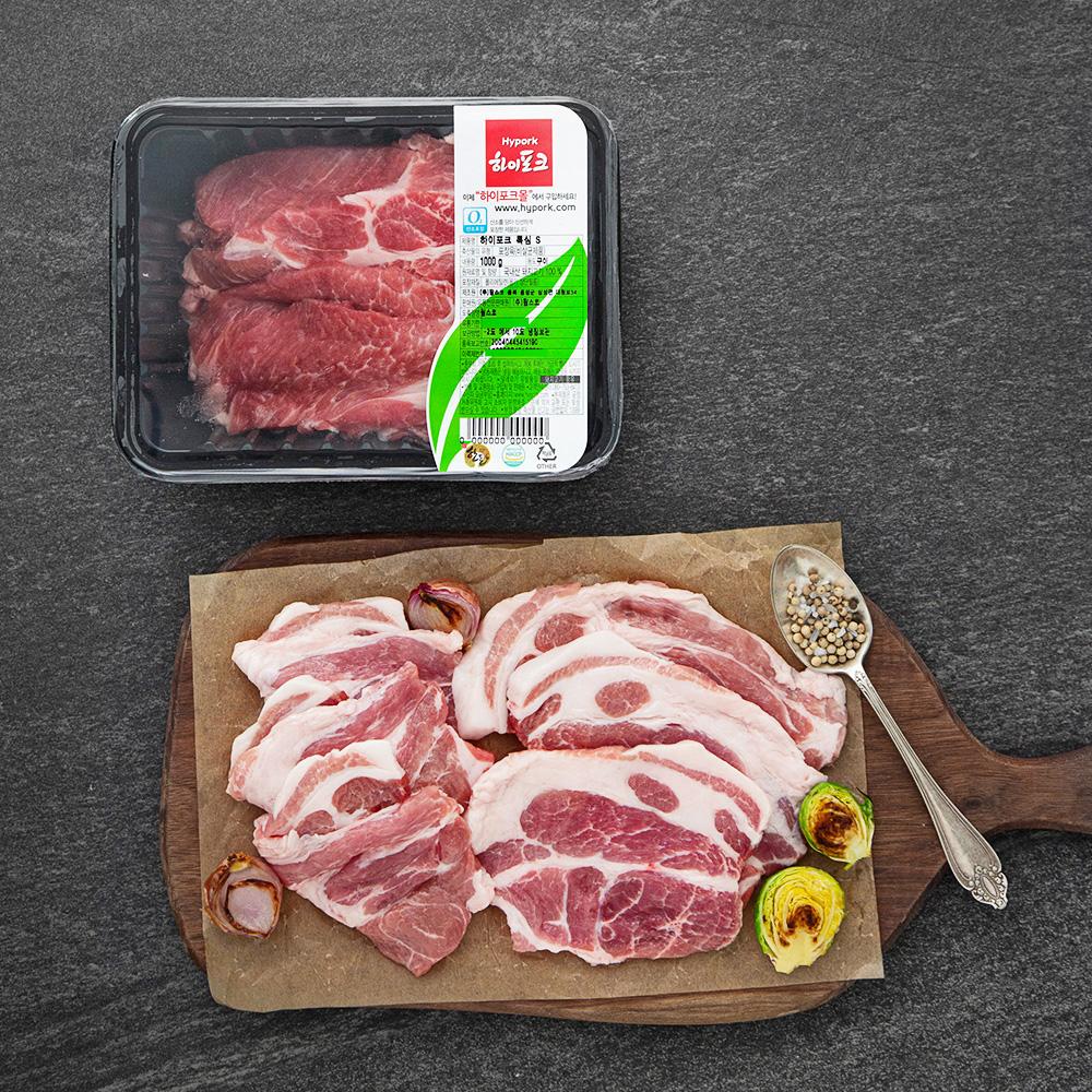 [하이포크] 하이포크 한돈 목심 (냉장), 1kg, 1팩 - 랭킹9위 (29900원)