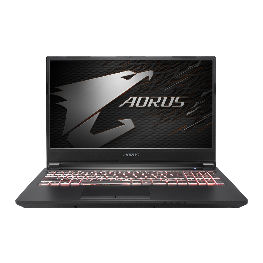 기가바이트 게이밍노트북 AORUS 5 SB i7 (i7-10750H 39.6cm GTX1660Ti), 미포함, NVMe 512GB + HDD 1TB, 16GB