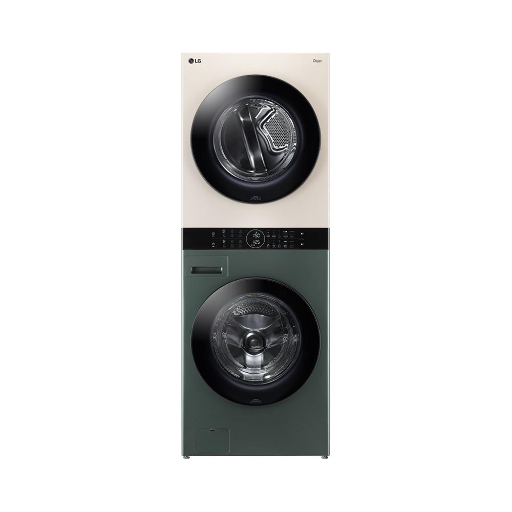 LG전자 오브제 컬렉션 워시타워 세탁 24kg 건조기 16kg 방문설치, W16GE