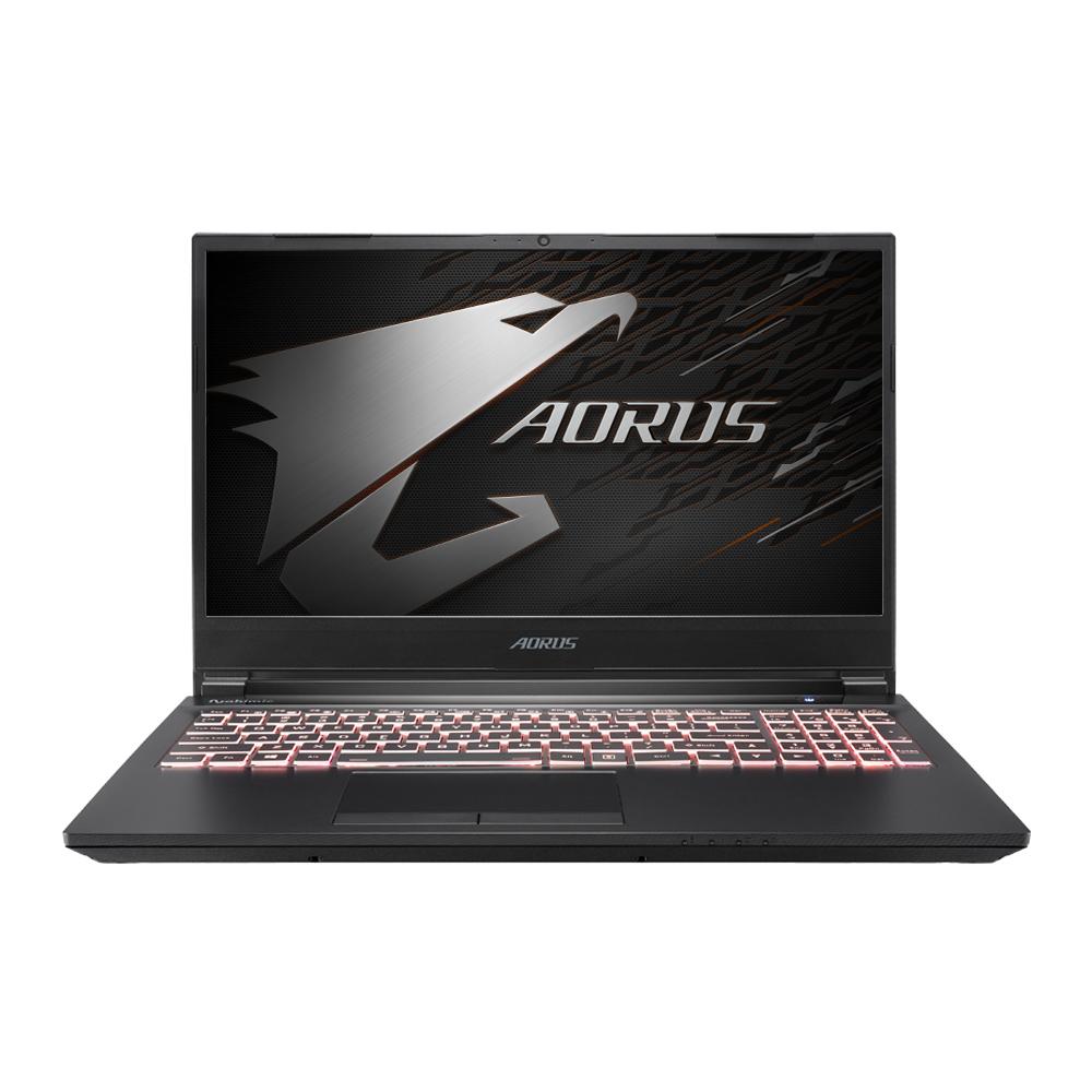 기가바이트 게이밍노트북 AORUS 5 SB i7 E (i7-10750H 39.6cm GTX1660Ti), 미포함, NVMe 256GB, 8GB