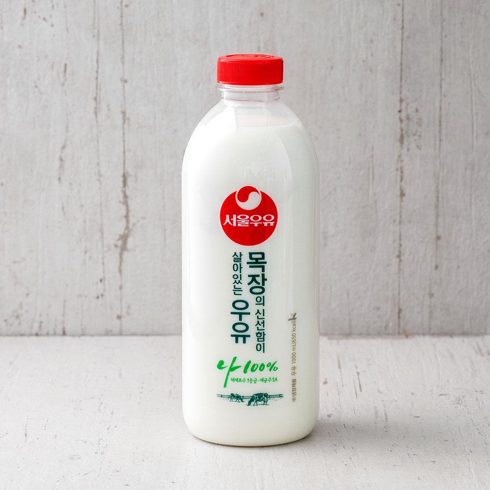 서울우유 목장의 신선함이 살아있는 우유, 1000ml, 1개