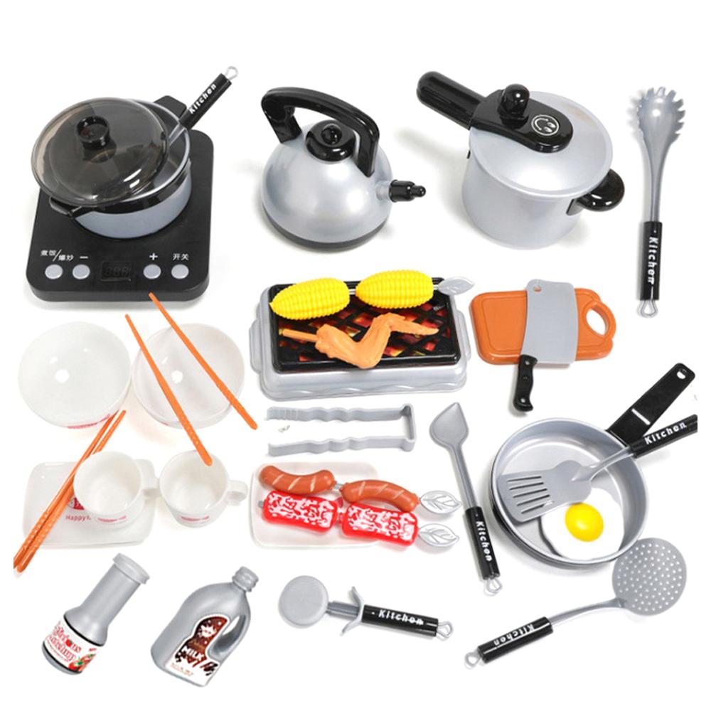 백운홈쇼핑 리얼 주방 도구 키친놀이 장난감, 혼합 색상
