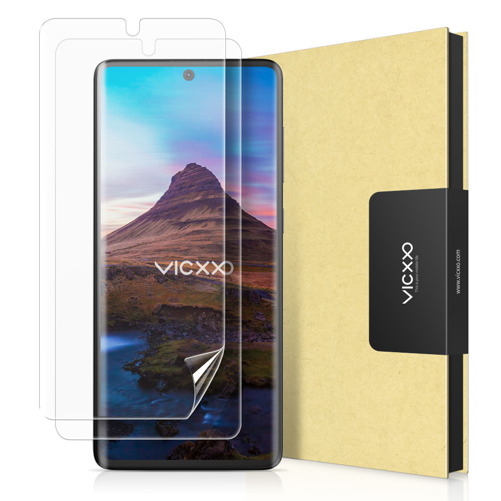빅쏘 3DSF 풀커버 휴대폰 액정보호필름, 2개