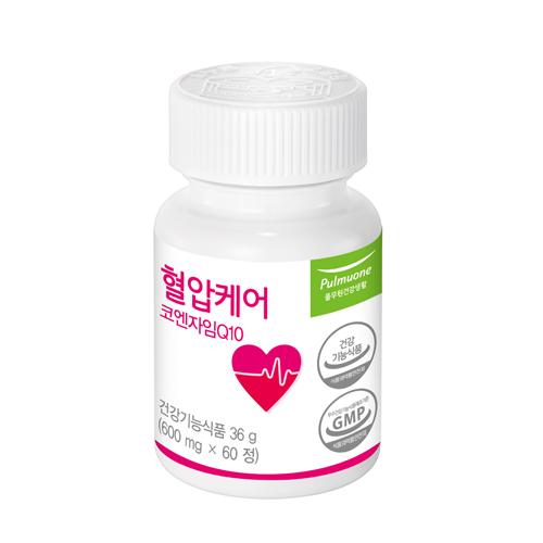 [혈압영양제] 풀무원건강생활 혈압케어, 1개, 60정 - 랭킹7위 (27000원)