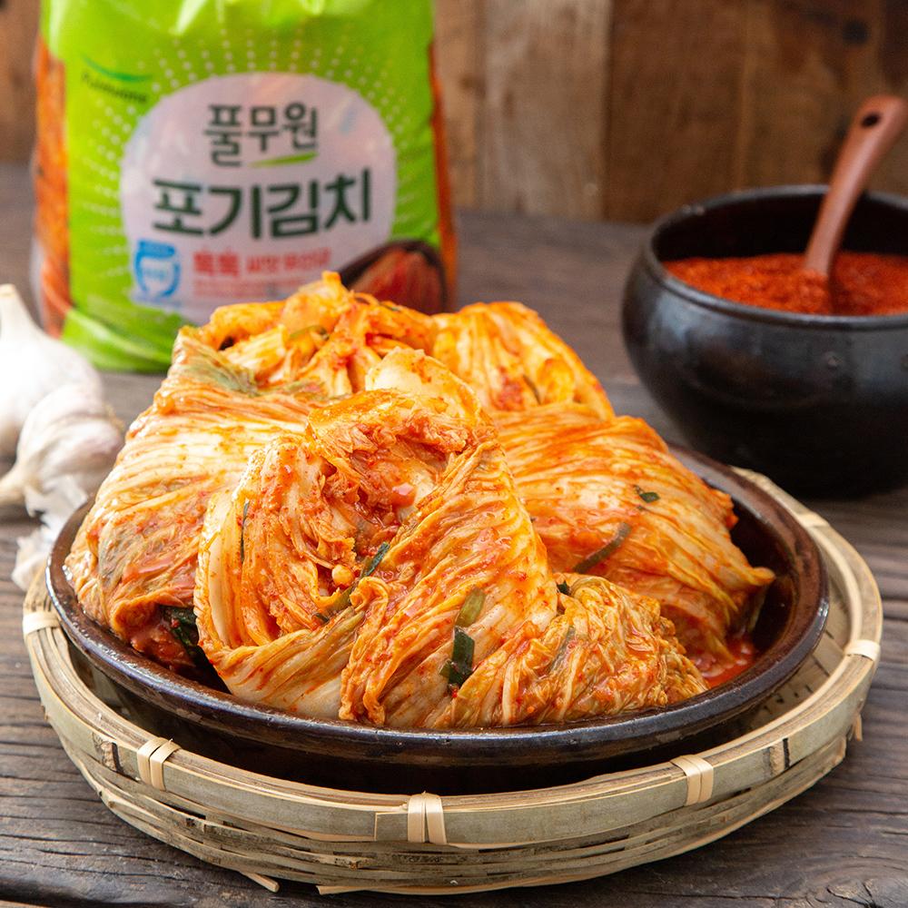 풀무원 톡톡 포기김치, 4kg, 1개