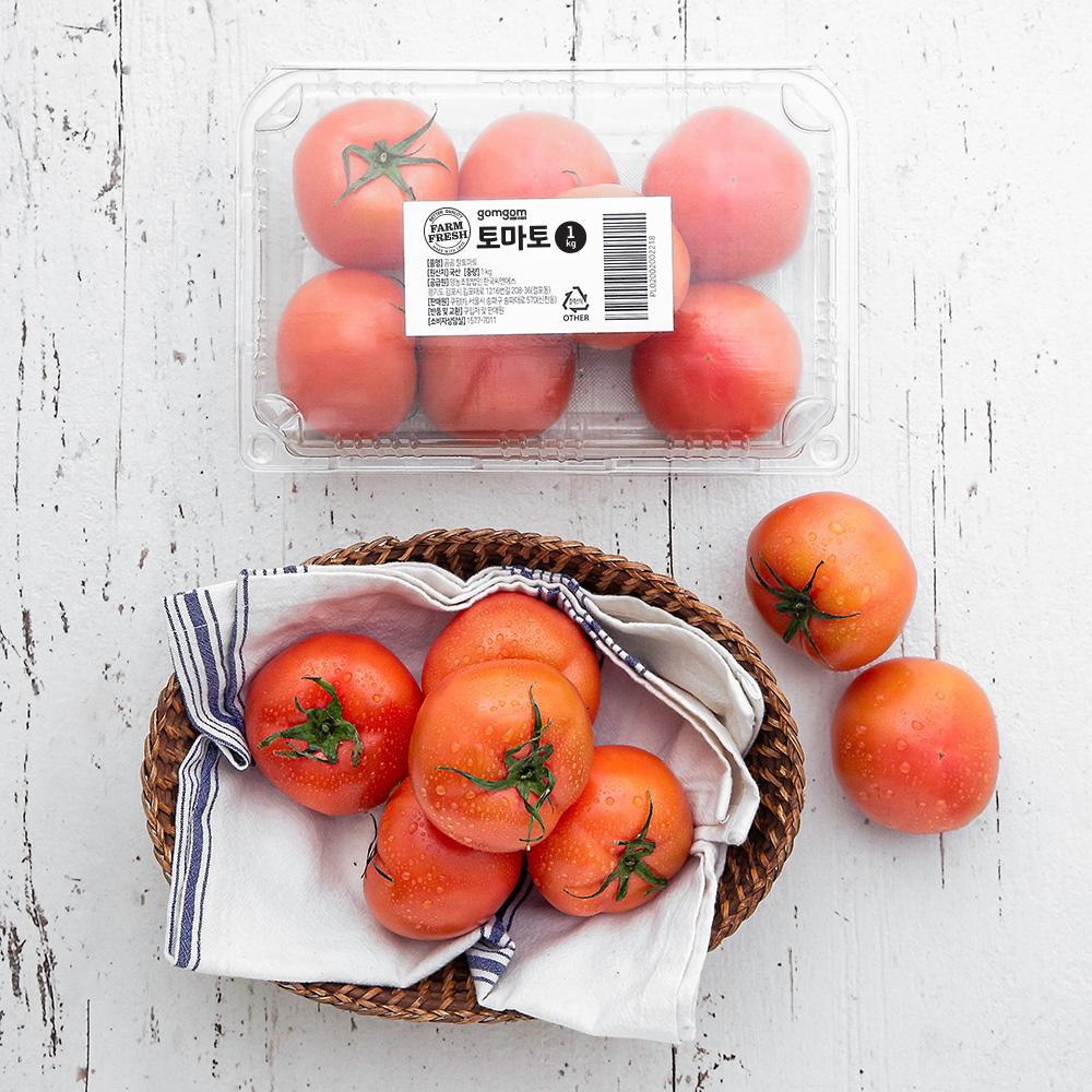 곰곰 완숙 토마토, 1kg, 1팩