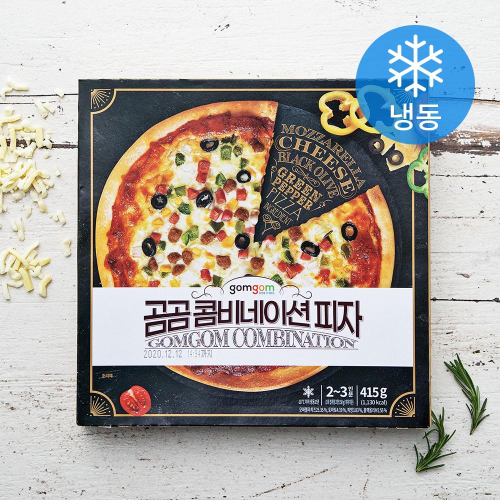 곰곰 콤비네이션 피자, 415g, 1개