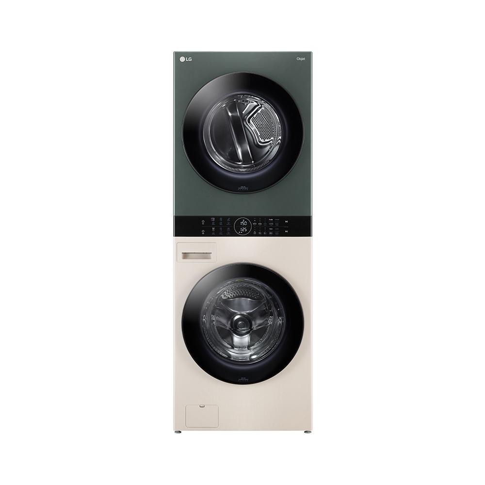 LG전자 오브제 컬렉션 워시타워 세탁 24kg 건조기 16kg 방문설치, W16EG