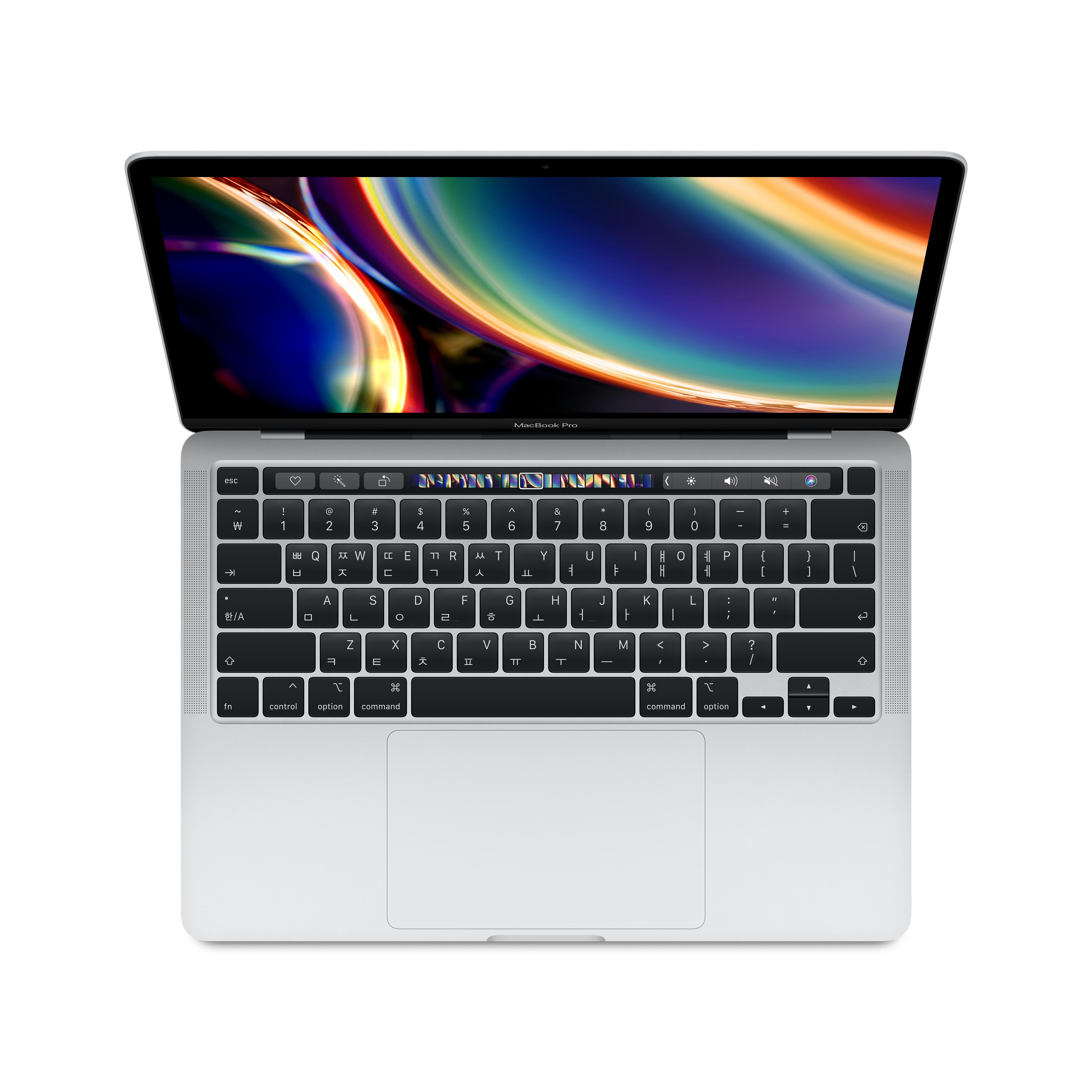 Apple 2020년 맥북 프로 터치바 13, 10세대 i5, 16GB, SSD 1TB, 실버