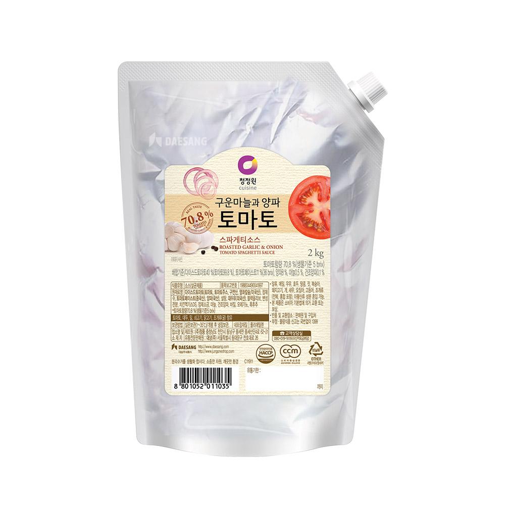 청정원 토마토 스파게티소스, 2kg, 1개