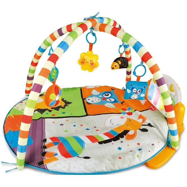 베이비캠프 NEW 멜로디 피아노 아기체육관, 혼합 색상