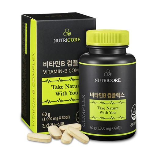 뉴트리코어 비타민B 컴플렉스 영양제, 60정, 1개