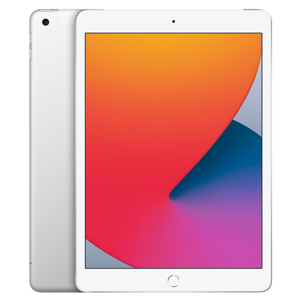 Apple 2020년 iPad 10.2 8세대, Wi-Fi+Cellular, 128GB, 실버