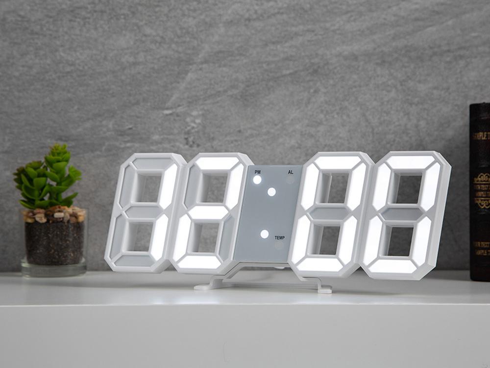홈플래닛 LED 벽시계 미니, 단일색상
