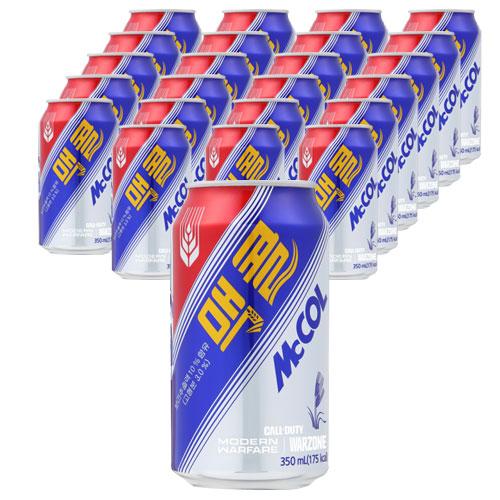 맥콜 캔, 350ml, 24개
