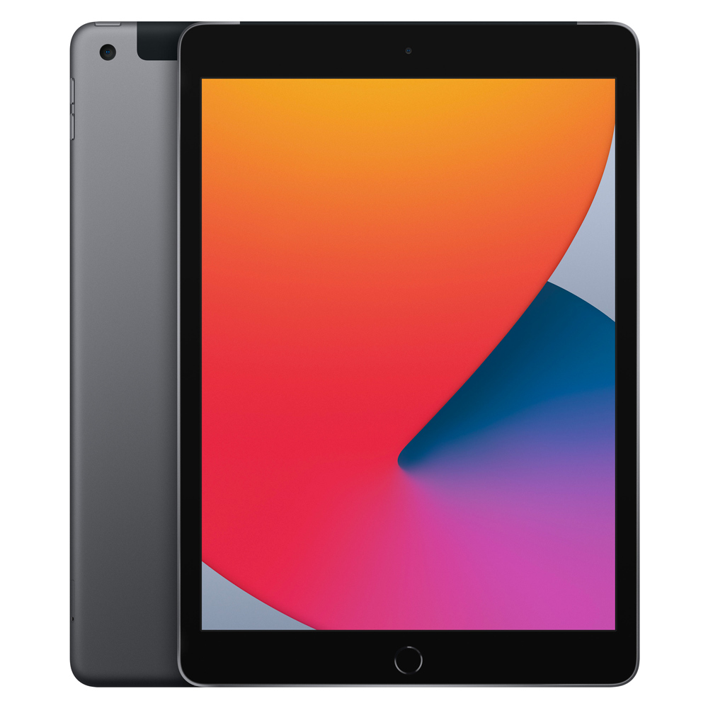 Apple 2020년 iPad 10.2 8세대, Wi-Fi+Cellular, 128GB, 스페이스 그레이