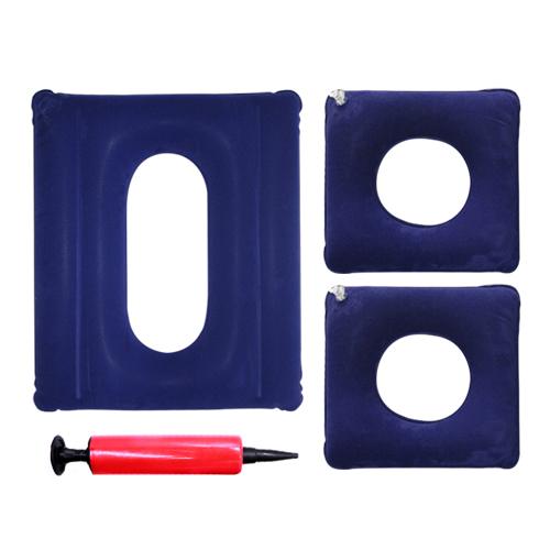 휴스퍼트 욕창예방 에어쿠션 SA004 3p + 미니 펌프, 1세트