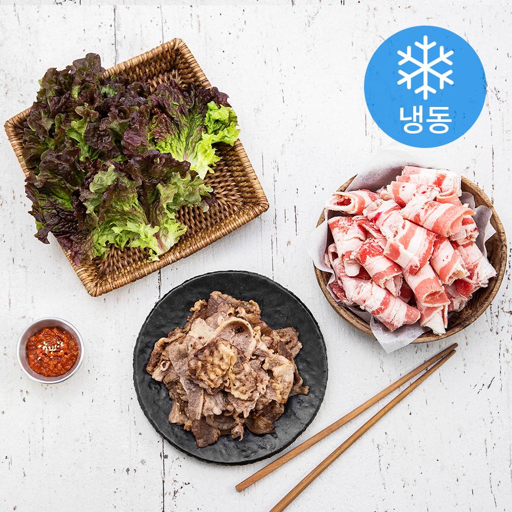 곰곰 대패 우삼겹 800g (냉동), 1개
