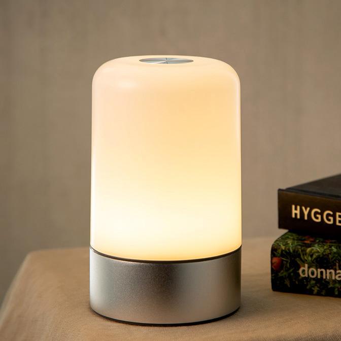 충전식 무선 탁상 LED 램프 무드등, 혼합 색상