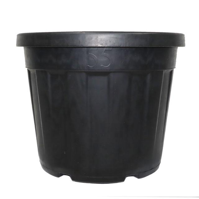 한국식물 대형 노지화분 55L, 블랙