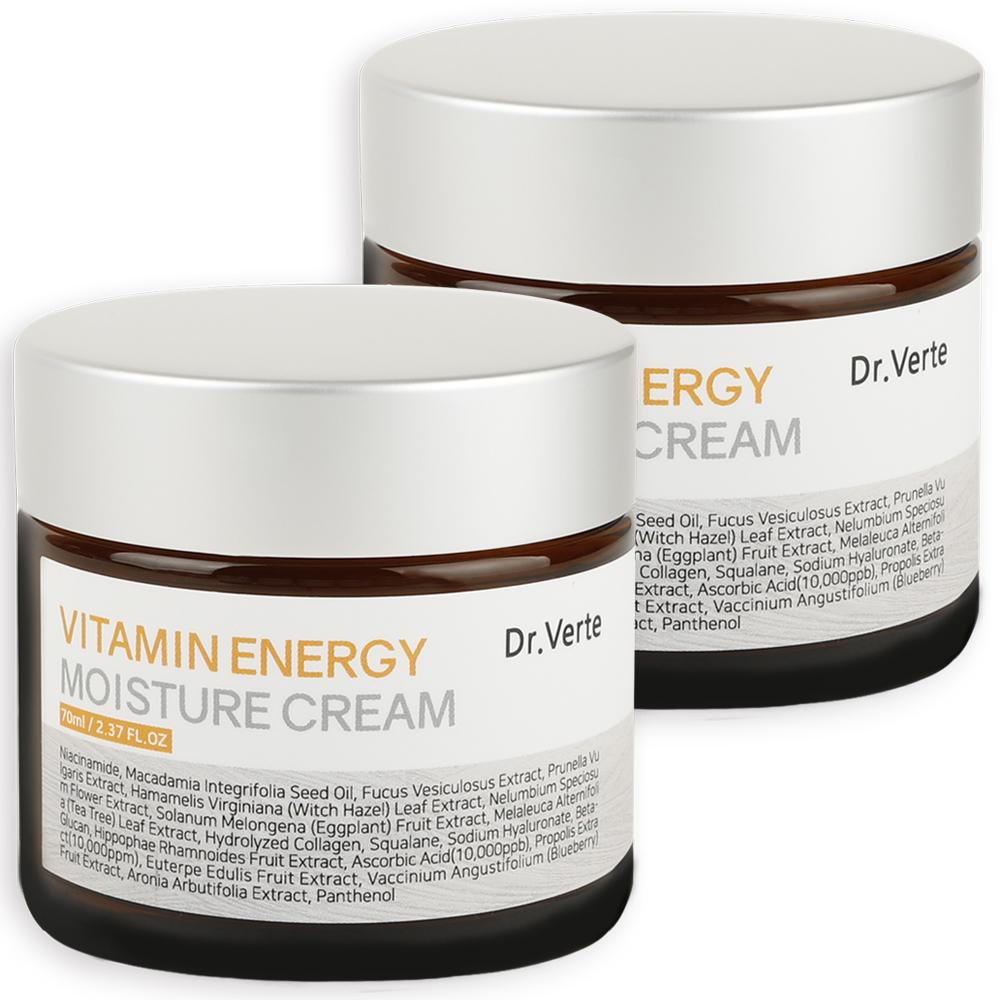 닥터벌트 비타민 에너지 수분크림, 70ml, 2개