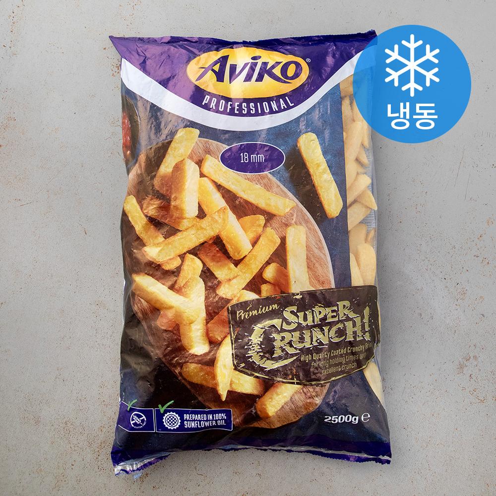 아비코 슈퍼크런치 씽크 컷 감자튀김 (냉동), 2.5kg, 1개