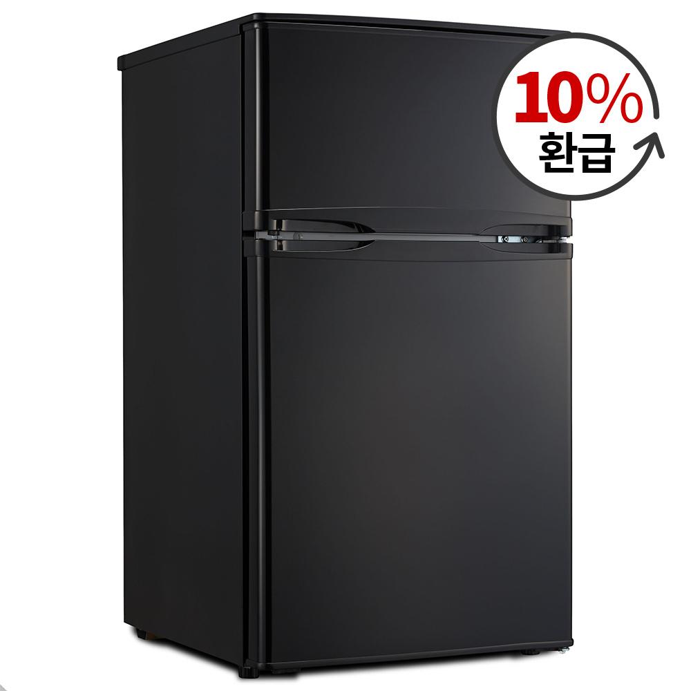 하이얼 소형미니냉장고 블랙 85L 자가설치, HRT88MDB