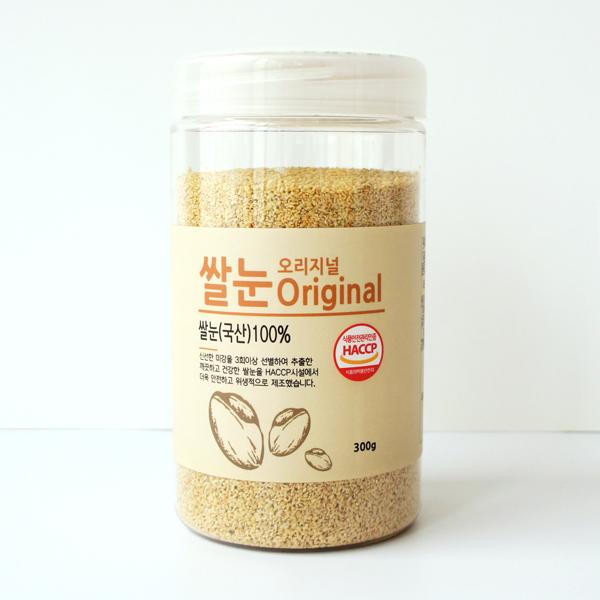 바비조아 쌀눈 오리지널, 300g, 1개