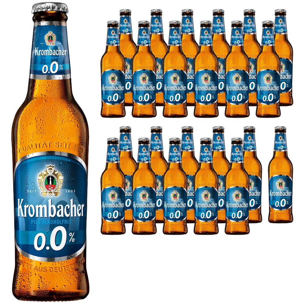 크롬바커 필스 알코올 프라이 0.0%, 330ml, 24개입