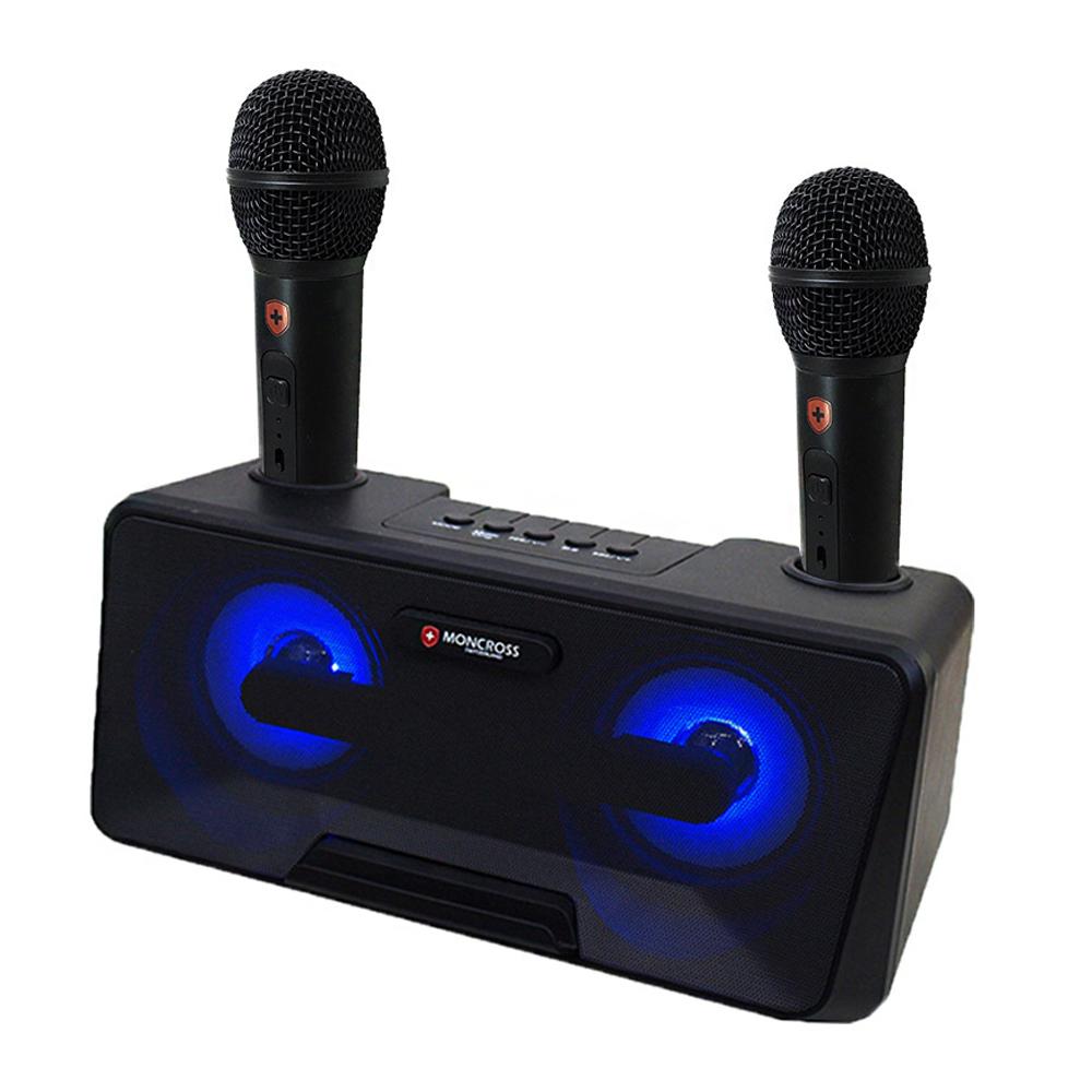 몽크로스 블루투스 노래방 마이크 세트, MSDM-K1010