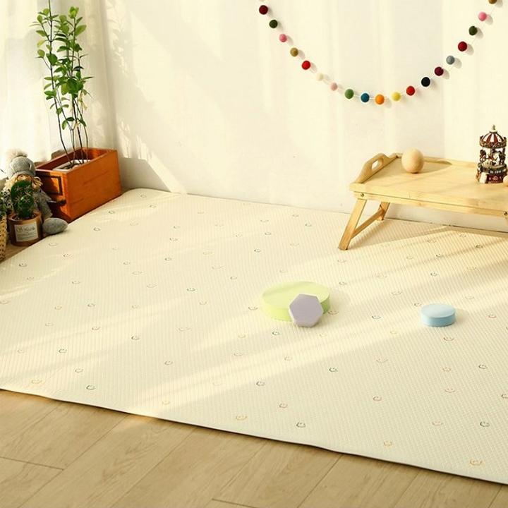 큐티스마일 양면쿠션 놀이방매트, 혼합색상