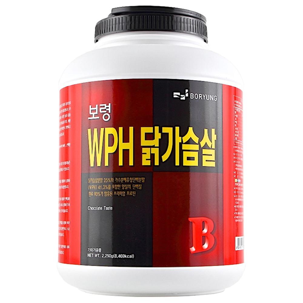 보령 WPH 닭가슴살 프로틴 파우더, 2.25kg, 1개
