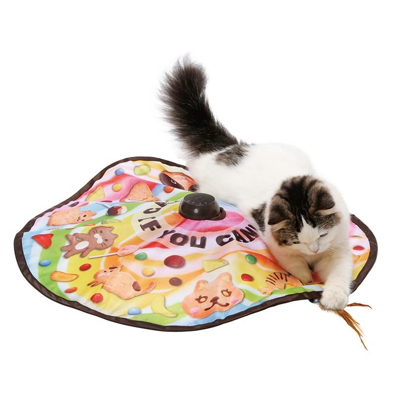 네코이찌 캐치미이프유캔2 고양이장난감, 혼합색상, 1개