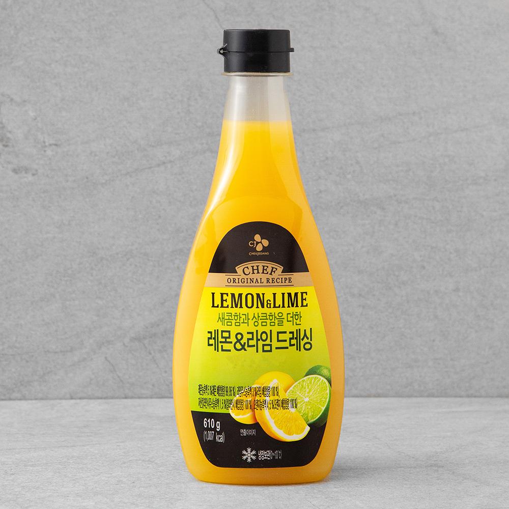 CJ제일제당 레몬 라임드레싱, 610g, 1개