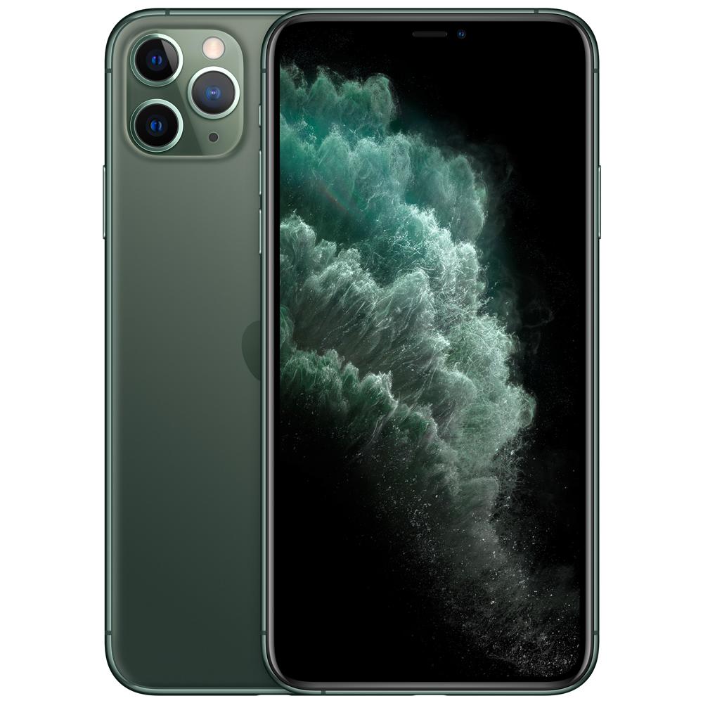 Apple 아이폰 11 Pro 자급제, 256GB, 미드나잇 그린