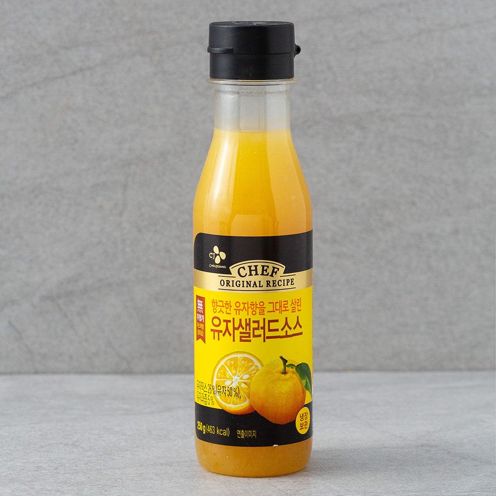 CJ제일제당 유자샐러드소스, 250g, 1개