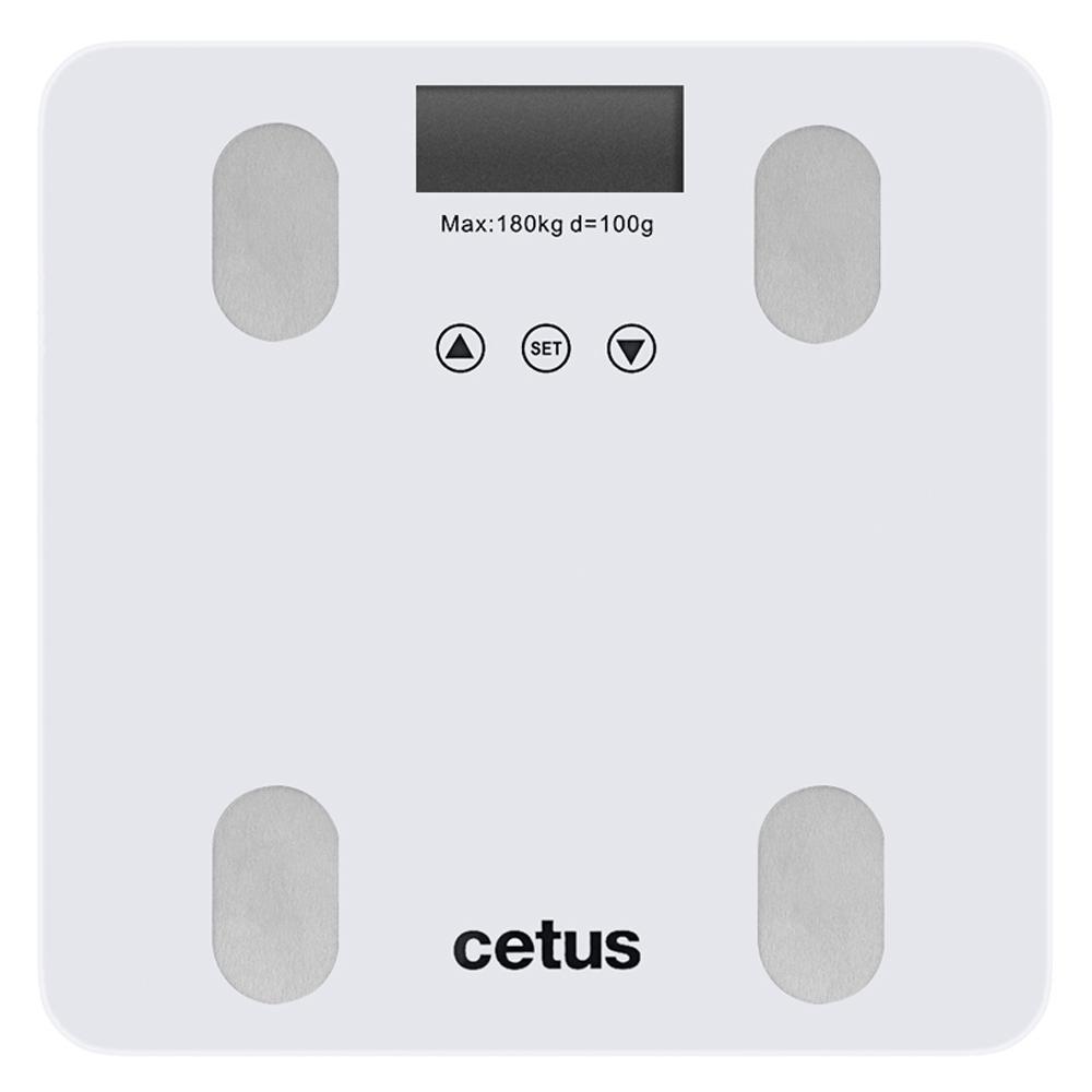 쿠팡 브랜드 - 시터스 디지털 체지방 체중계, QCB-N1BF, 화이트