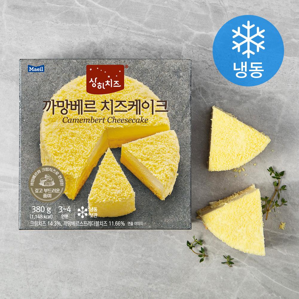 상하치즈 까망베르 치즈케이크 (냉동), 380g, 1개
